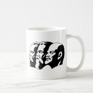 Marx, Engels and Lénin Classic White Coffee Mug