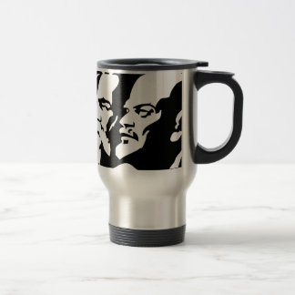 Marx, Engels and Lénin Travel Mug