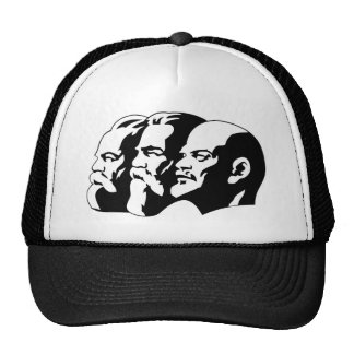 Marx, Engels and Lénin Trucker Hat