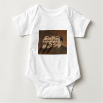 Marx, Engels, Lenin, and Stalin Baby Bodysuit