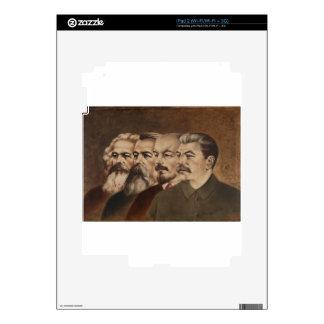 Marx, Engels, Lenin, and Stalin iPad 2 Skins