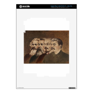 Marx, Engels, Lenin, and Stalin iPad 3 Skin