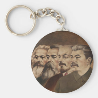 Marx, Engels, Lenin, and Stalin Keychain