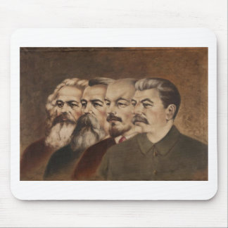 Marx, Engels, Lenin, and Stalin Mouse Pad