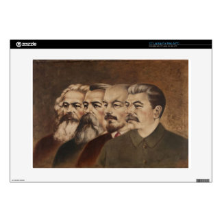 Marx, Engels, Lenin, and Stalin Skin For Laptop