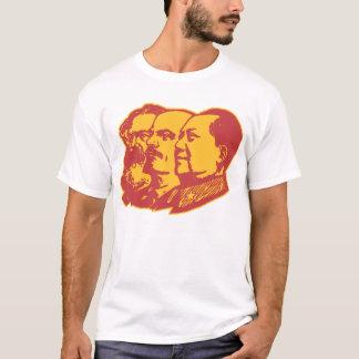 Marx Lenin Mao Portrait T-Shirt