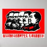 Marx Lenin Mao Zedong Impresiones