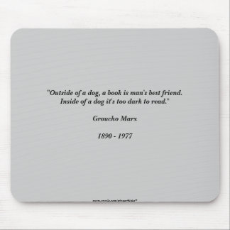 Marx Quote Mouse Pad