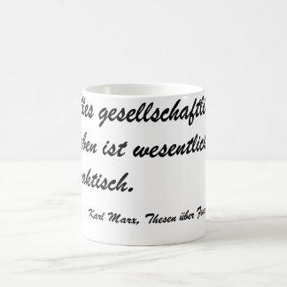 Marx theses Feuerbach Coffee Mug