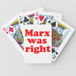 Marx was right #2 bicycle poker deck