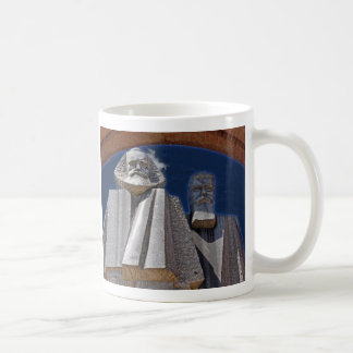 Marx y Engels Taza De Café