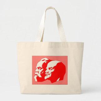 Marx y Lenin Bolsa De Mano