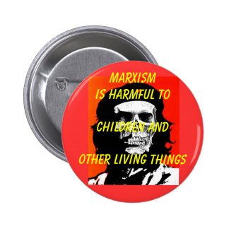 Marxism Hurts Children & Other Living Things 2 Inch Round Button