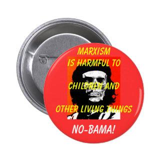 Marxism is Harmful to Children.... 2 Inch Round Button