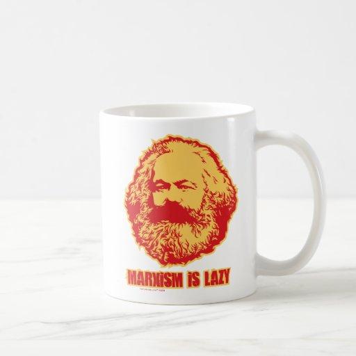 Marxism is Lazy Classic White Coffee Mug