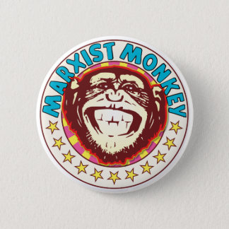 Marxist Monkey Button