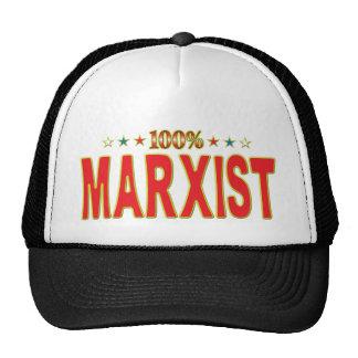 Marxist Star Tag Mesh Hat