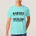 Marxista en la calle/el Foucauldian en las hojas Camisas