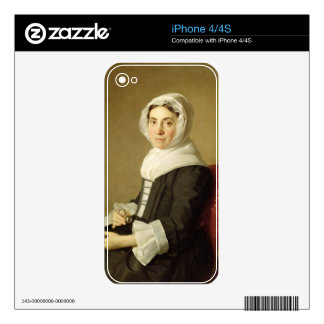 Mary Adam, 1754 (oil on canvas) Decal For The iPhone 4