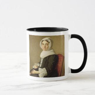 Mary Adam, 1754 (oil on canvas) Mug