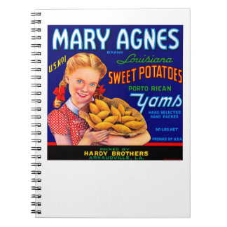 Mary Agnes Louisiana Yams Notebook