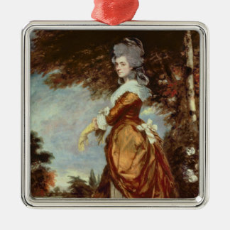 Mary Amelia, 1st Marchioness of Salisbury Metal Ornament