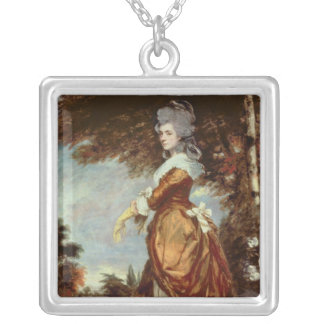 Mary Amelia, 1st Marchioness of Salisbury Silver Plated Necklace