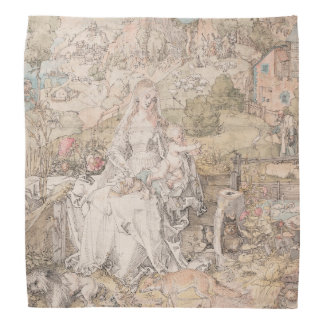 Mary Among a Multitude of Animals by Durer Bandana