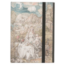 Mary Among a Multitude of Animals by Durer Cover For iPad Air