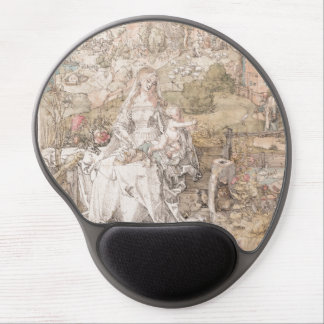 Mary Among a Multitude of Animals by Durer Gel Mousepads