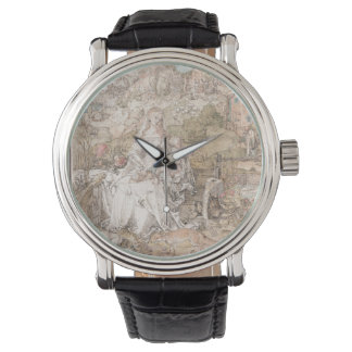 Mary Among a Multitude of Animals by Durer Wristwatches