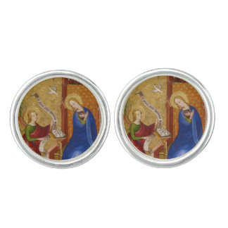 Mary and Angel of Annunciation Cufflinks