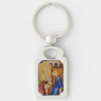 Mary and Angel of Annunciation Keychain