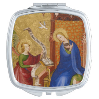 Mary and Angel of Annunciation Mirror For Makeup