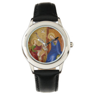 Mary and Angel of Annunciation Wrist Watch