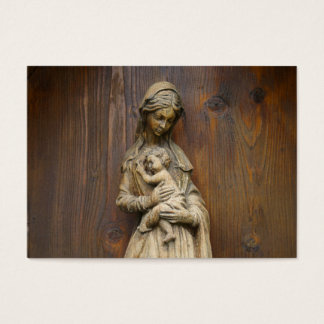 Mary And Baby Jesus Business Card