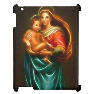 Mary And Baby Jesus Case For The iPad 2 3 4