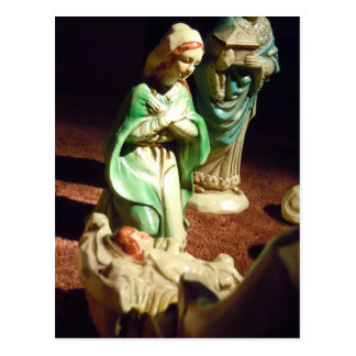 Mary and Baby Jesus Postcard