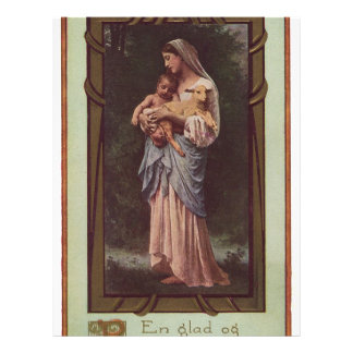 Mary and Child Full Color Flyer