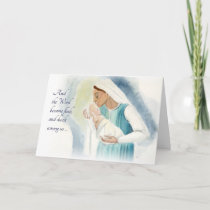 Mary and Child Holiday Card