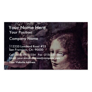 Mary And Christ Child St. John The Baptist As A Ch Business Cards