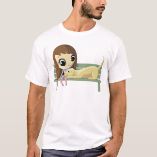 Mary and Crouton the Dog T-Shirt