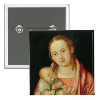 Mary and her Child Pinback Button