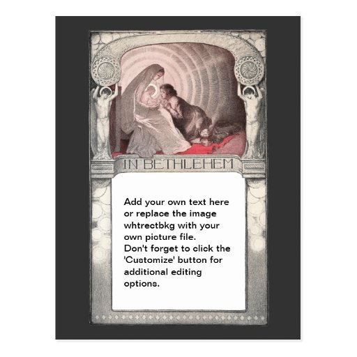 Mary and Infant Jesus Postcard