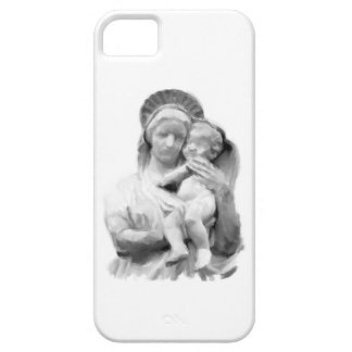Mary and Jesus Art Hand Painted iPhone 5 Case