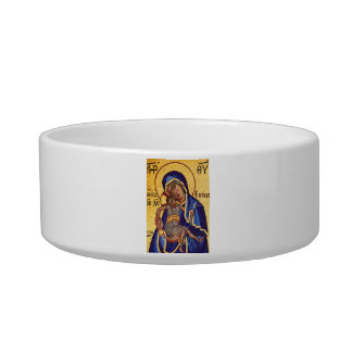 Mary and Jesus Mosaic Bowl