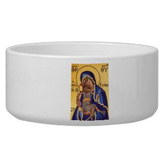 Mary and Jesus Mosaic Bowl