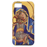Mary and Jesus Mosaic iPhone 5 Case