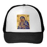 Mary and Jesus Mosaic Trucker Hats