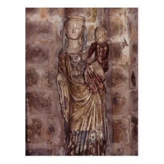 Mary and Jesus Postcard